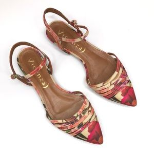 Antrhopologie Vicenza Astres Floral Flats